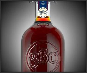 360 Cola Flavored Vodka