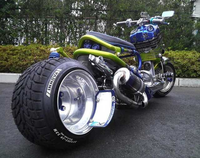 Custom Japanese Scooters