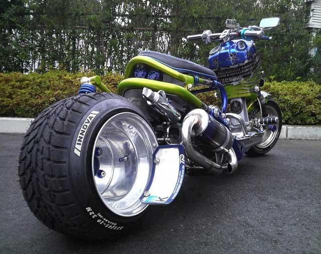 Custom Japanese Scooters