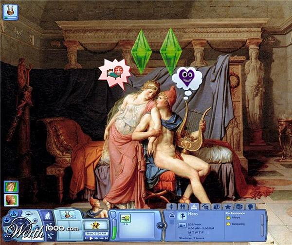 Video Game Renaissance: Helen & Paris | Image: StMark