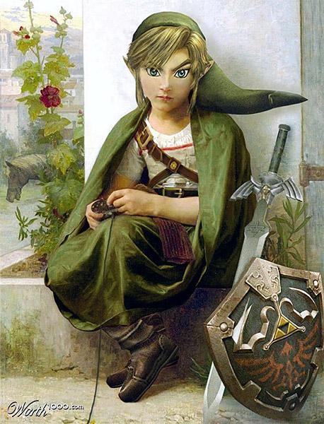 Video Game Renaissance: Zelda Playing Zelda | Image: aards2