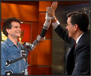 Video: Colbert and Kamen's Arm