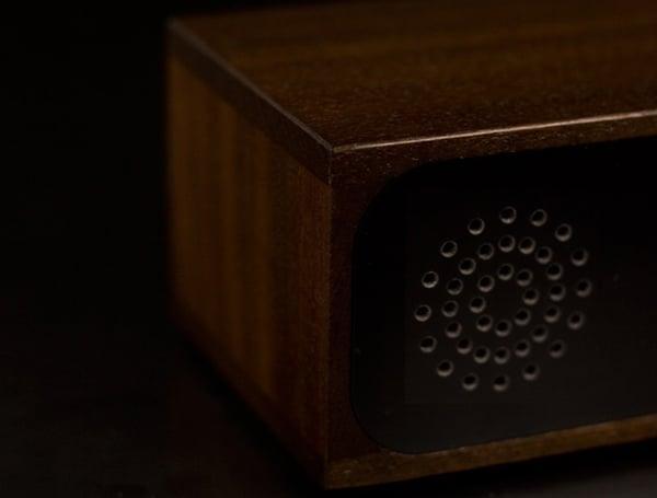 Furni Knox Wooden LED Clock