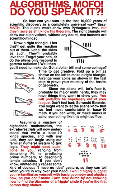 How-To Guide for First Contact