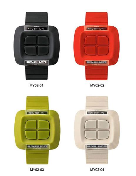 Reverse Double Digital Watch
