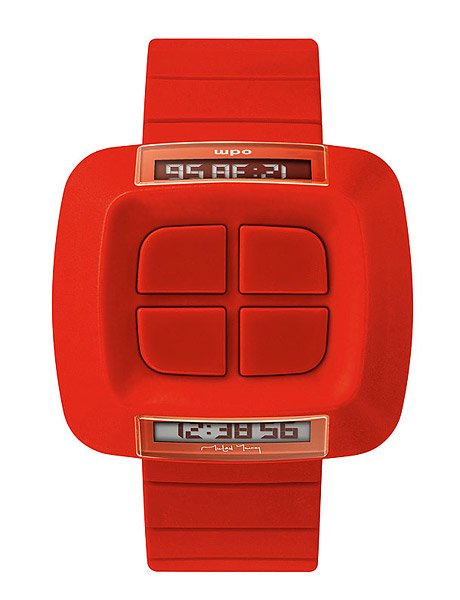 Reverse Double Digital Watch