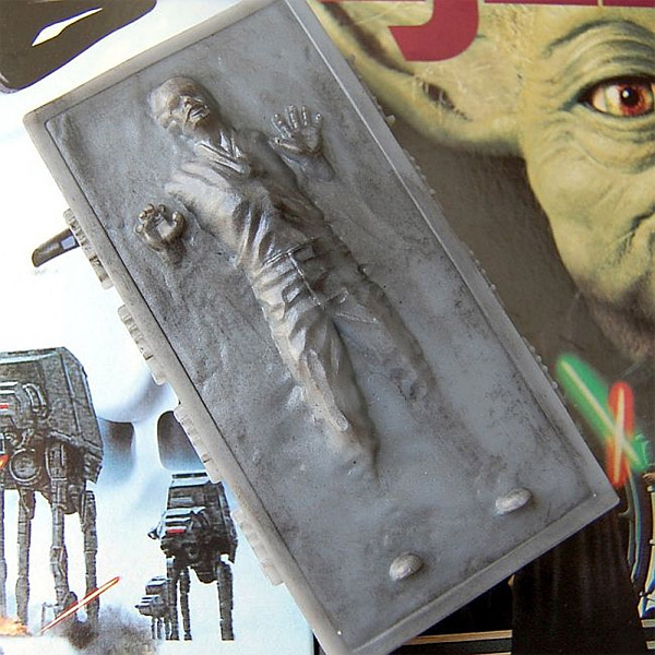 Han Solo Carbonite Soap