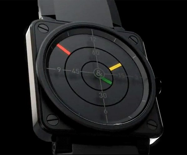 B&R BR01-92 Radar Watch