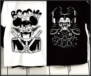 BOOOM! Mashup Tees
