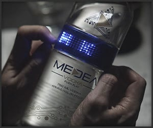Medea LED Vodka Bottle