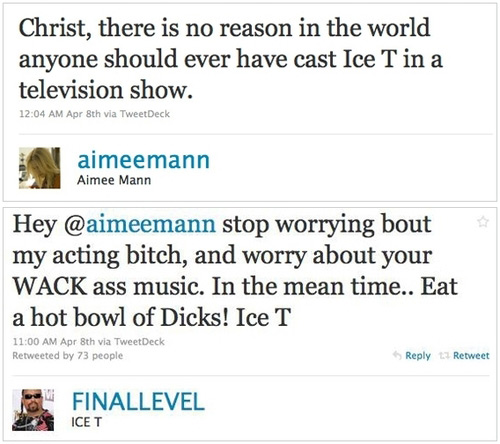 Aimee Mann vs. Ice T