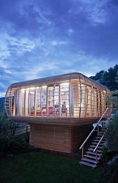 Concept: Fincube House
