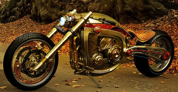 Seraphim Custom Bike Concept
