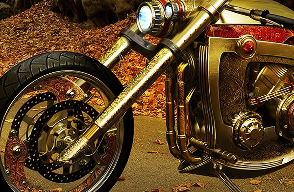 Seraphim Custom Bike Concept
