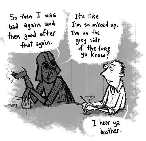 Lost – Star Wars Comic Mashup