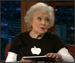 Betty White's iPad