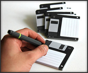 Disk It Sticky Notes