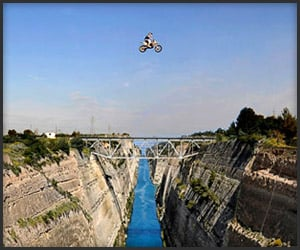 Record Breaking Motorcycle Jump