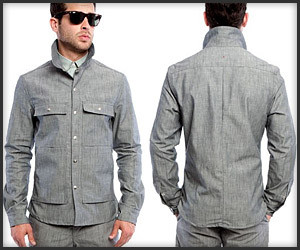 Chambray Shirt Jacket
