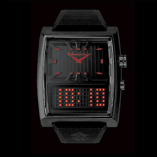 Black Dice Duo Watch