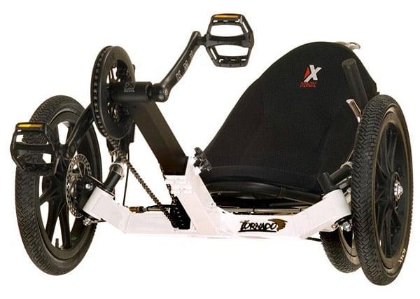 KMX Tornado Recumbent Bike