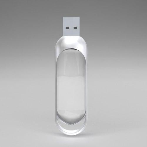 Concept: Glass USB Drive