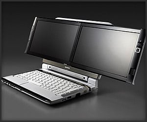 Onkyo Dual Screen DX Laptop