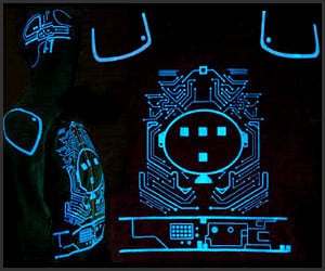 Glow-In-The-Dark Tron Tee