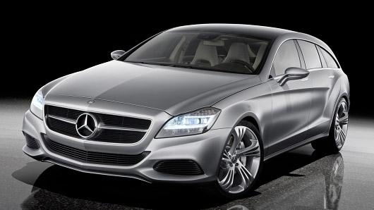 Mercedes Shooting Brake Concept