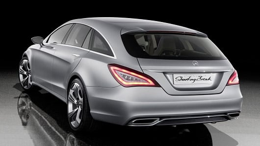 Mercedes Shooting Brake Concept