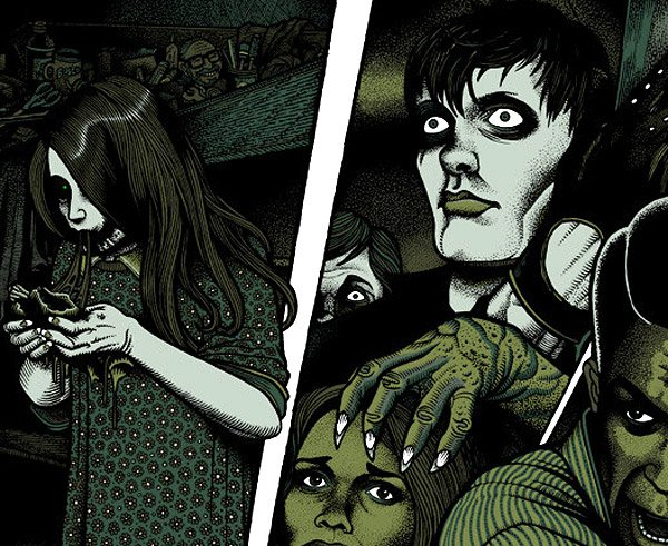 Night of the Living Dead Print