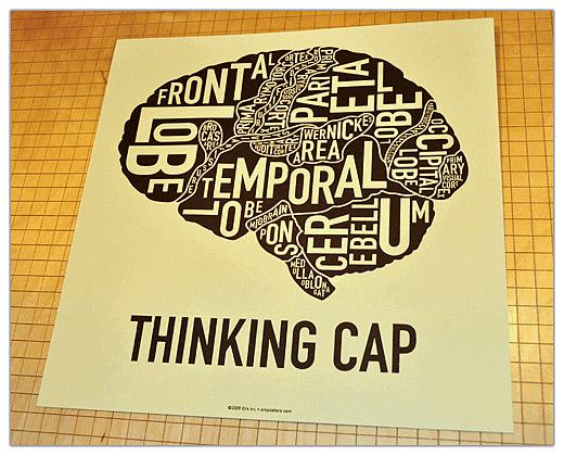 Ork Brain Poster