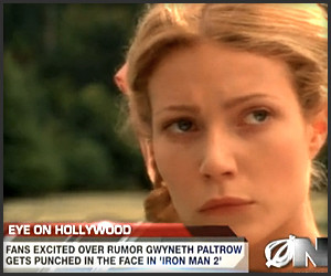 Paltrow Punched in Iron Man 2