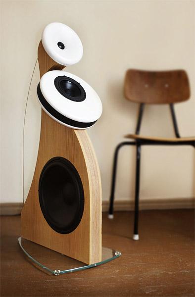 Дизайн акустических колонок