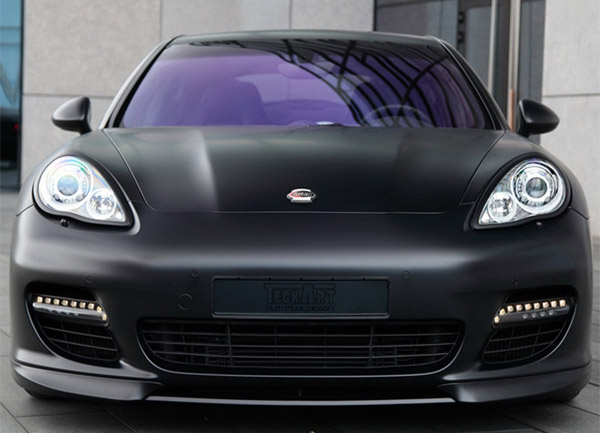 TechArt Black Porsche Panamera