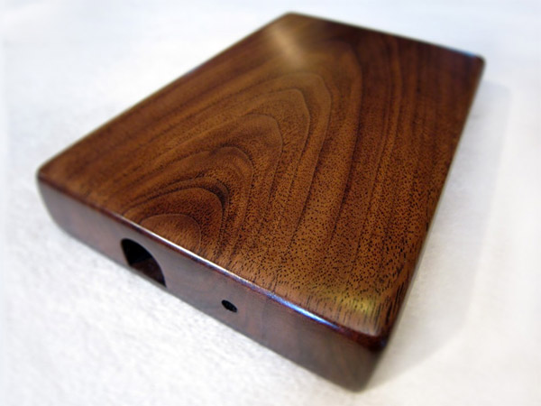 Wooden External Hard Drive