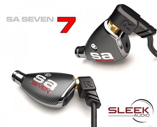 Sleek Audio SA7 Earphones