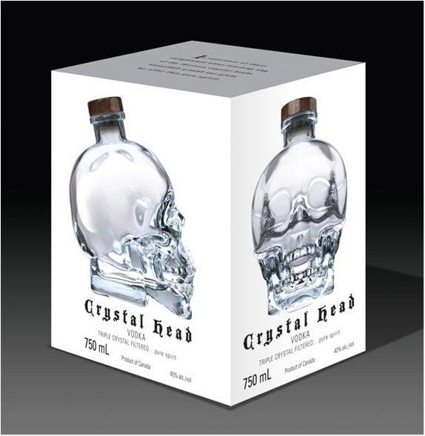 Crystal Head Vodka - The Awesomer