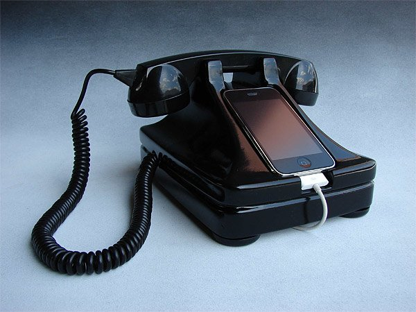 Retro Rotary iPhone Dock