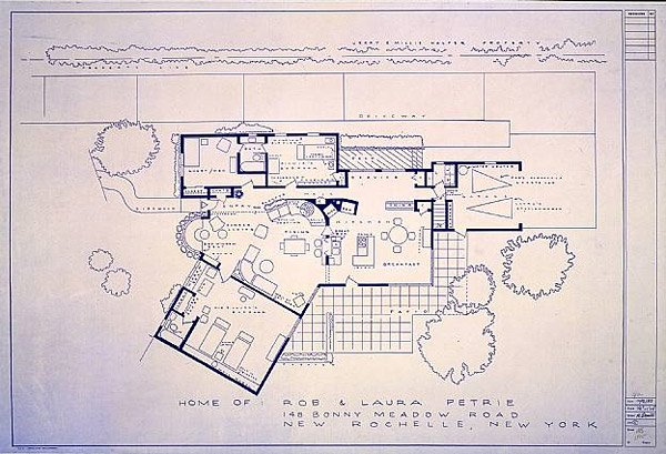 TV & Movie Home Blueprints