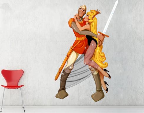 Dragon's Lair Wall Graphics