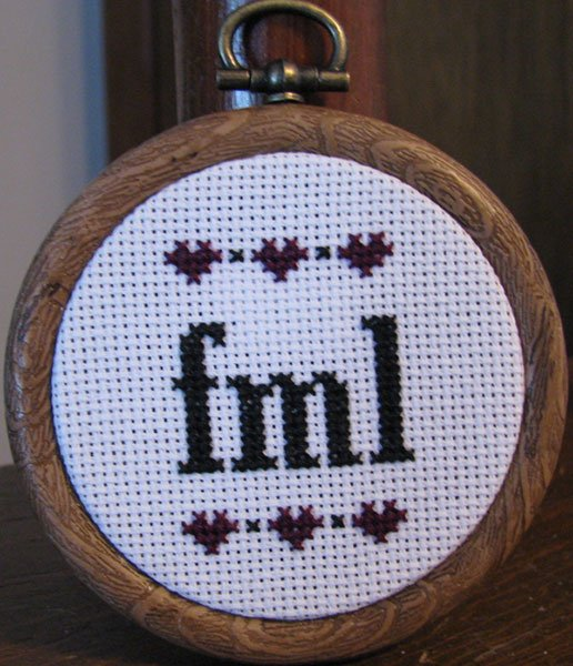 Rude & Snarky Cross Stitches
