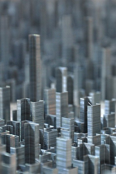 Ephemicropolis: City of Staples