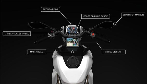 IZH-1 Hybrid Concept Motorcycle