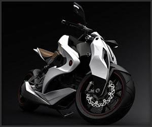 IZH-1 Hybrid Concept Motorcycle