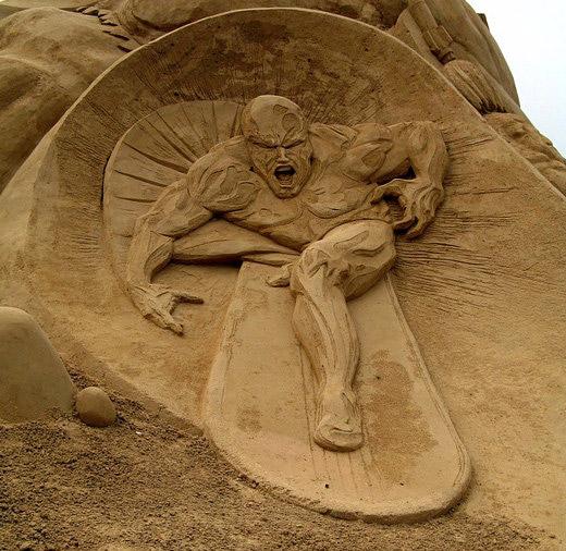 Sand Sculptures Around the World