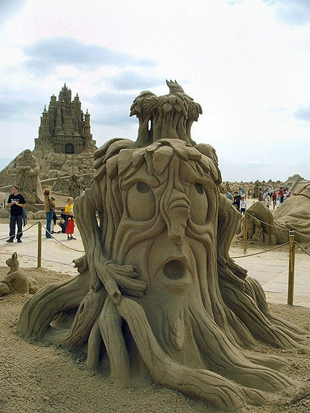 Sand Sculptures Around the World