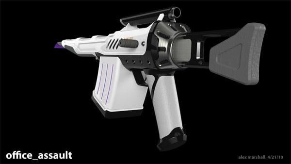 Sticky Note Memo Gun