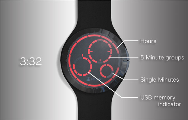 USB Memory Watch