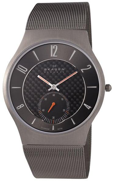 Titanium Mesh Strap Watch